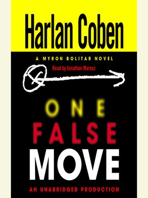 Click this cover for a(n) Audiobook sample of One False Move.
