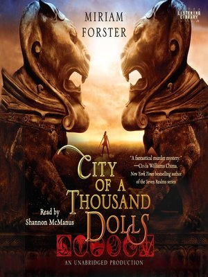 Click this cover for a(n) Audiobook sample of City of a Thousand Dolls