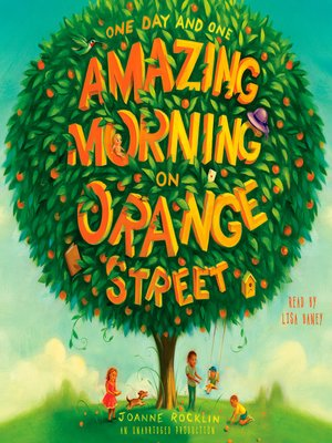 Click this cover for a(n) Audiobook sample of One Day and One Amazing Morning on Orange Street