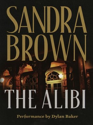 Click this cover for a(n) Audiobook sample of The Alibi.