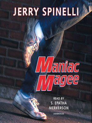 Click this cover for a(n) Audiobook sample of Maniac Magee.