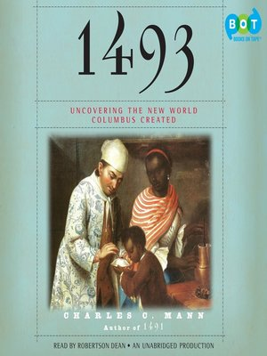 Click this cover for a(n) Audiobook sample of 1493.
