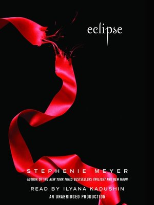 Click this cover for a(n) Audiobook sample of Eclipse.
