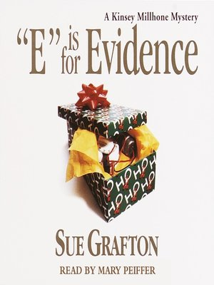 "Cover of ""E"" is for Evidence"