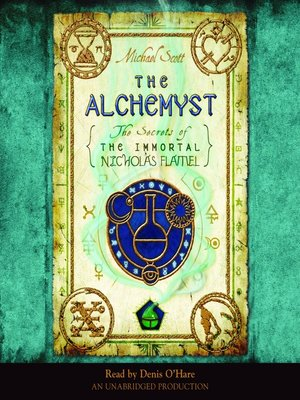Click this cover for a(n) Audiobook sample of The Alchemyst.