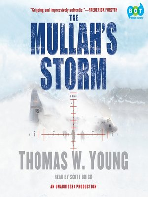 Click this cover for a(n) Audiobook sample of The Mullah's Storm.