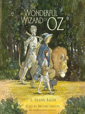 Click this cover for a(n) Audiobook sample of The Wonderful Wizard of Oz