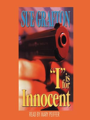"Click this cover for a(n) Audiobook sample of ""I"" is for Innocent"