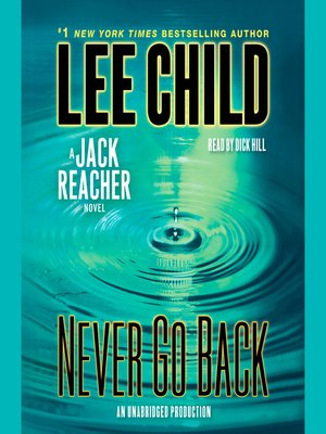 Click this cover for a(n) Audiobook sample of Never Go Back