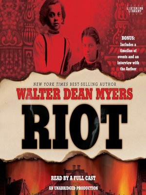 Click this cover for a(n) Audiobook sample of Riot.