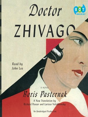 Click this cover for a(n) Audiobook sample of Doctor Zhivago.