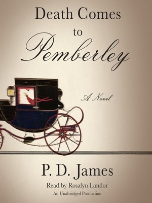 Click this cover for a(n) Audiobook sample of Death Comes to Pemberley