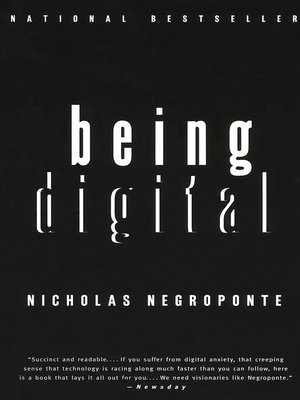 Click this cover for a(n) Audiobook sample of Being Digital.