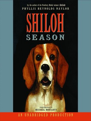 Click this cover for a(n) Audiobook sample of Shiloh Season