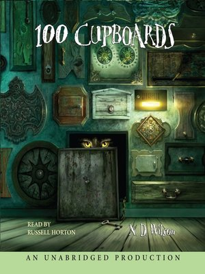 Click this cover for a(n) Audiobook sample of 100 Cupboards.