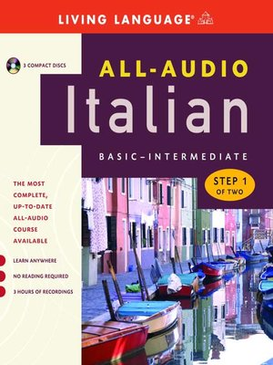 Click this cover for a(n) Audiobook sample of All-Audio Italian Step 1