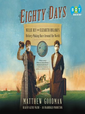 Click this cover for a(n) Audiobook sample of Eighty Days.