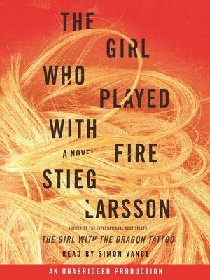 Click this cover for a(n) Audiobook sample of The Girl Who Played with Fire.