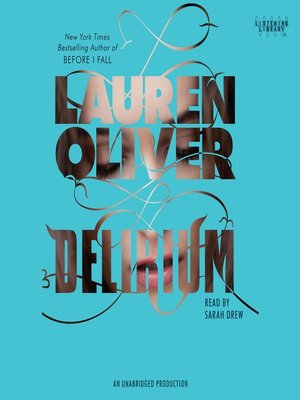 Click this cover for a(n) Audiobook sample of Delirium