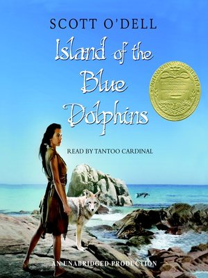 Click this cover for a(n) Audiobook sample of Island of the Blue Dolphins.