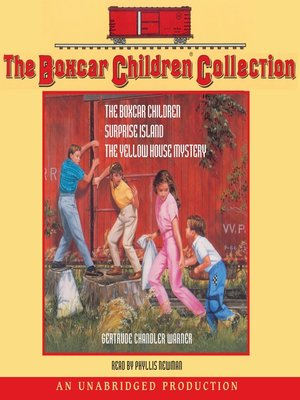 Click this cover for a(n) Audiobook sample of The Boxcar Children Collection.