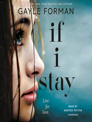 Click this cover for a(n) Audiobook sample of If I Stay