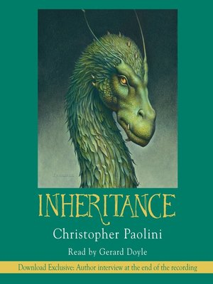Click this cover for a(n) Audiobook sample of Inheritance.