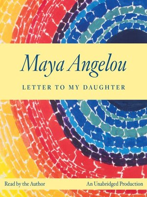 Click this cover for a(n) Audiobook sample of Letter to My Daughter.