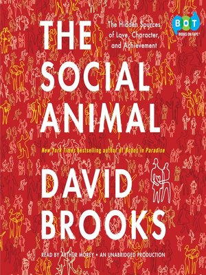 Click this cover for a(n) Audiobook sample of The Social Animal