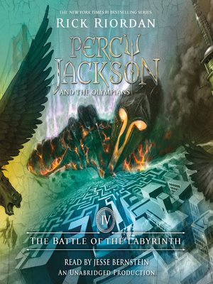 Cover of The Battle of the Labyrinth