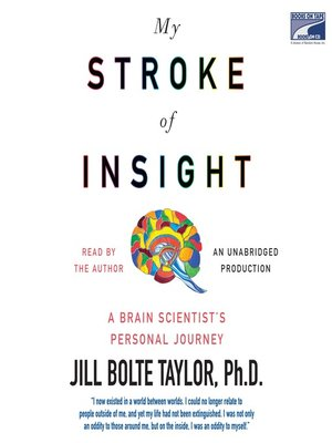 Click this cover for a(n) Audiobook sample of My Stroke of Insight.