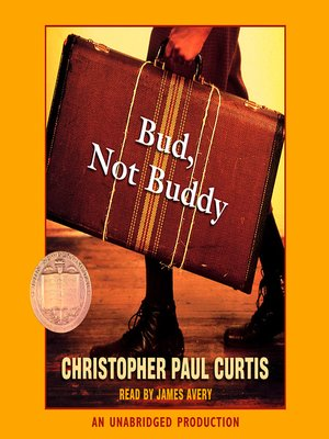 Click this cover for a(n) Audiobook sample of Bud, Not Buddy.
