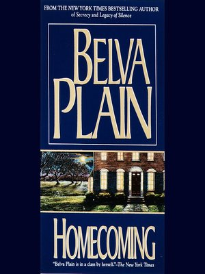 Cover of Homecoming