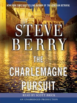 Click this cover for a(n) Audiobook sample of The Charlemagne Pursuit.