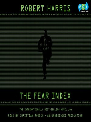 Click this cover for a(n) Audiobook sample of The Fear Index.