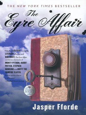 Click this cover for a(n) Audiobook sample of The Eyre Affair.