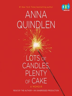 Click this cover for a(n) Audiobook sample of Lots of Candles, Plenty of Cake.