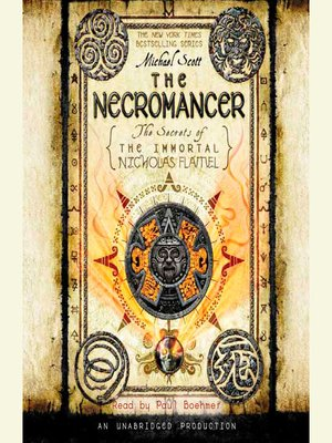 Click this cover for a(n) Audiobook sample of The Necromancer