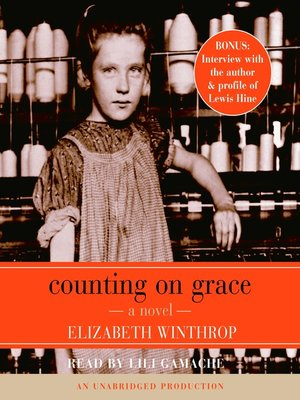 Click this cover for a(n) Audiobook sample of Counting on Grace.