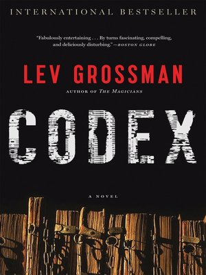Click this cover for a(n) Audiobook sample of Codex.