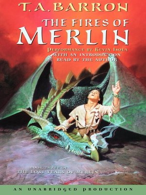 Click this cover for a(n) Audiobook sample of The Fires of Merlin.