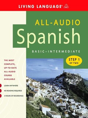 Click this cover for a(n) Audiobook sample of All-Audio Spanish Step 1