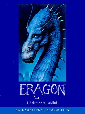 Click this cover for a(n) Audiobook sample of Eragon.