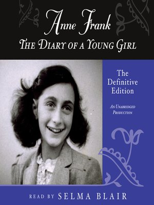 Click this cover for a(n) Audiobook sample of The Diary of a Young Girl.