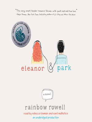 Click this cover for a(n) Audiobook sample of Eleanor & Park.