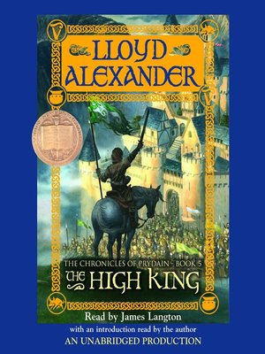 Click this cover for a(n) Audiobook sample of The High King.