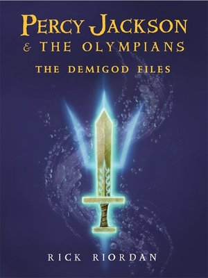 Click this cover for a(n) Audiobook sample of The Demigod Files