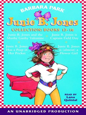 Click this cover for a(n) Audiobook sample of Junie B. Jones Collection, Books 13-16