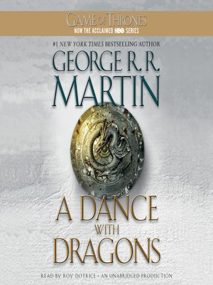 Click this cover for a(n) Audiobook sample of A Dance with Dragons.