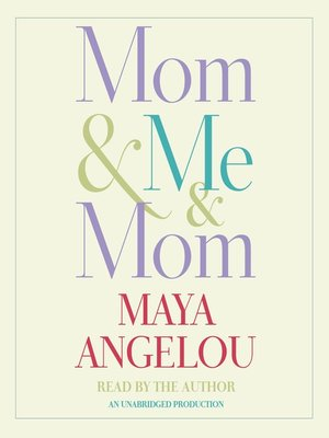 Click this cover for a(n) Audiobook sample of Mom & Me & Mom